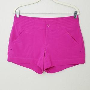 Athleta Hudson Board Shorts ~ Fuschia Pink ~ sz 4